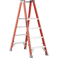Industrial Heavy-Duty Fibreglass 2-Way Platform Stepladders (FMP1500 Series) VD428 | SCN Industrial