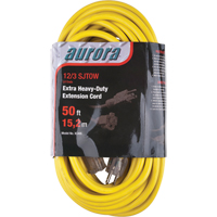 Outdoor Vinyl Extension Cords with Light Indicator - Single Tap  XC495 | SCN Industrial