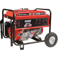 6500-W Gasoline Generators w/Wheel Kit XE634 | SCN Industrial