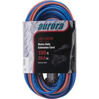 Triple Tap All-Weather TPE-Rubber Extension Cords with Light Indicator XH237 | SCN Industrial