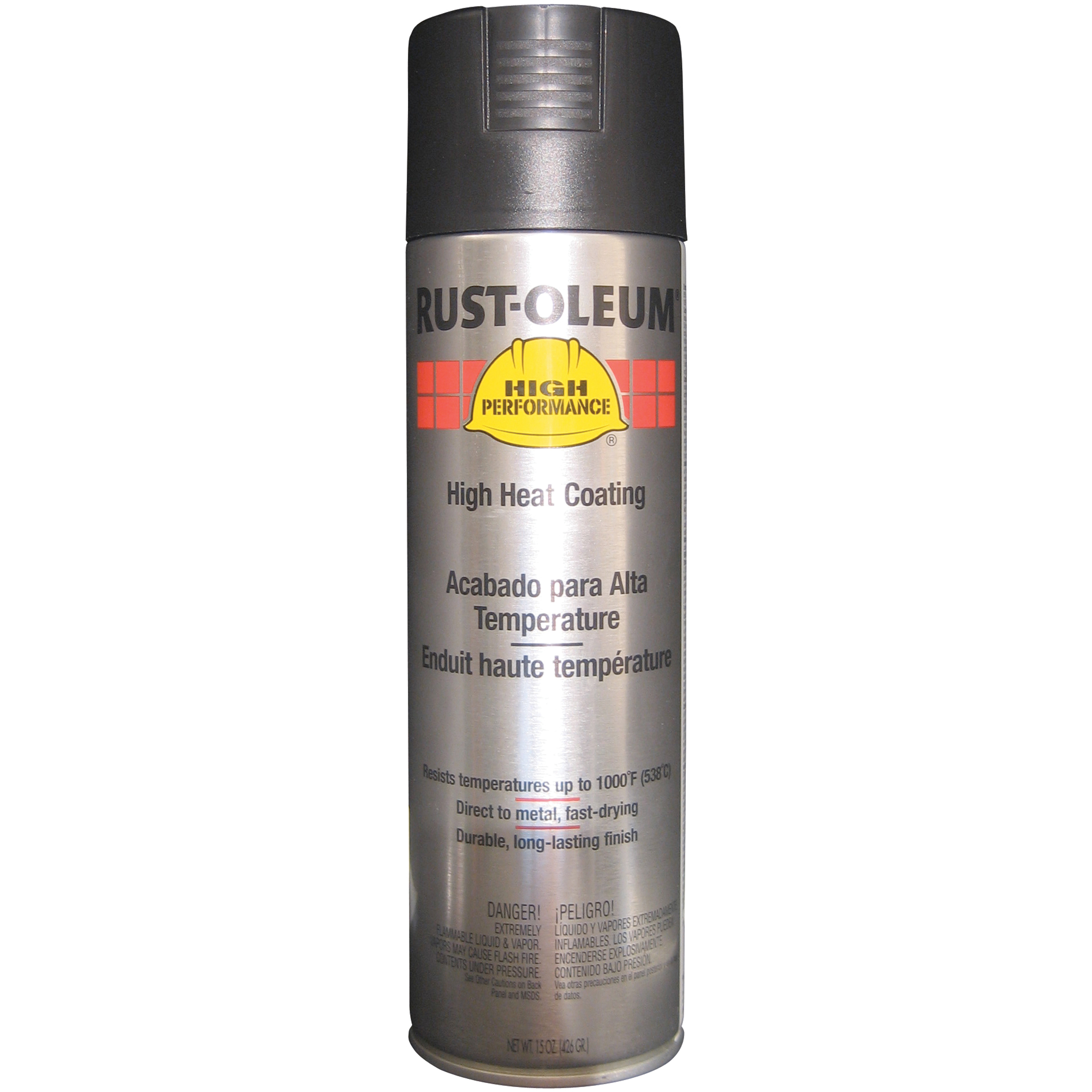 RUST-OLEUM High Heat Black Spray Paint | SCN Industrial