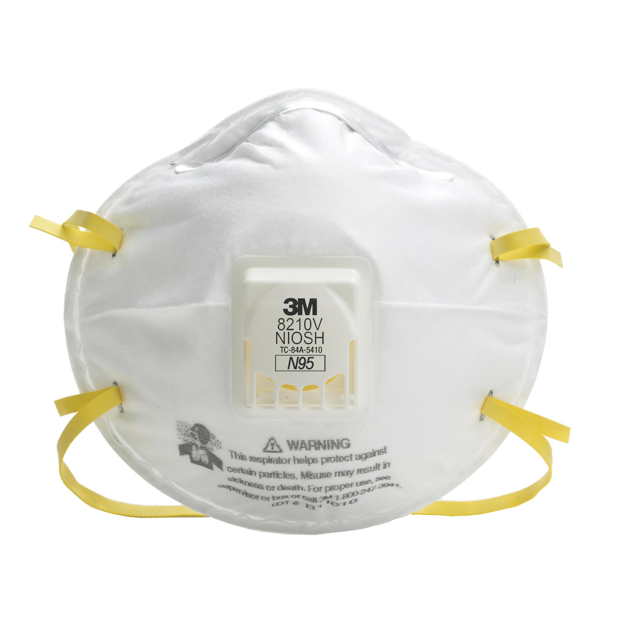Scn N95 Industrial Particulate 8210v 3m Respirators